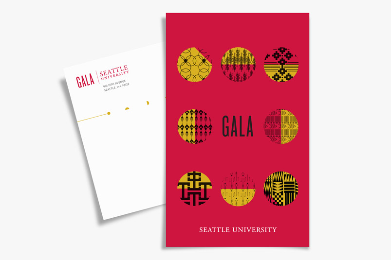 Seattle U Gala collateral