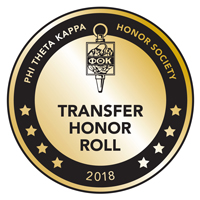 Phi Theta Kappa Seal Transfer Honor Roll 2018