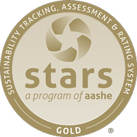 2018 AASHE STARS Gold Seal