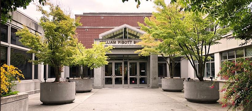 The Albers School of Business and Economics is at the Pigott Building in Seattle University