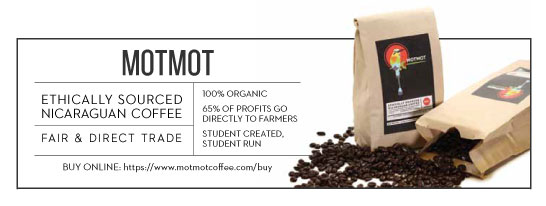 MotMot is a student created, student run enterprise on campus