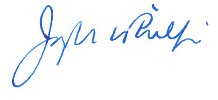 Dean Joe Phillips' signature