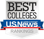 US News & World Report best colleges for business badge 2020