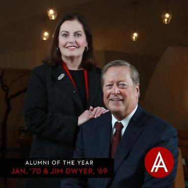 Alumni of the Year: Jan and Jim Dwyer