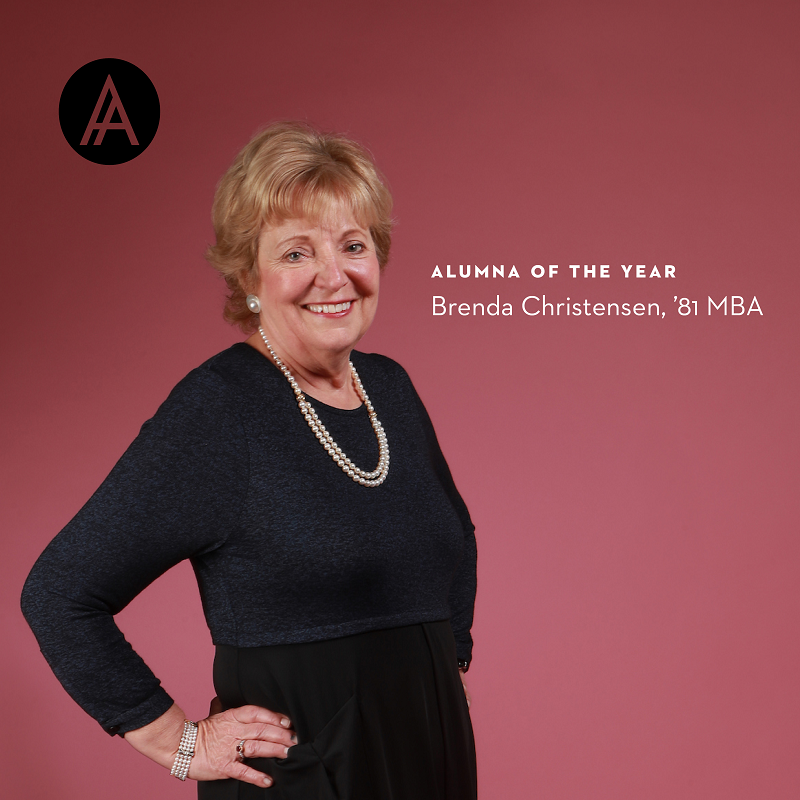 Profile image of Brenda Christensen, '81, Alumna of the Year
