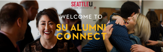 Seattle U Alumni Connect Header