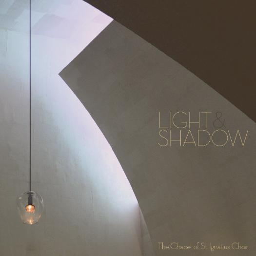 Light & Shadow Album Cover with chapel light image