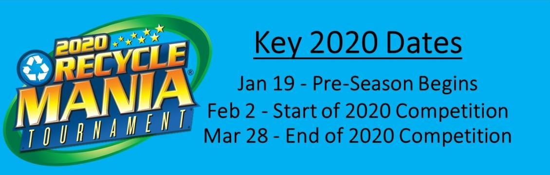 recyclemania 2020 banner key dates