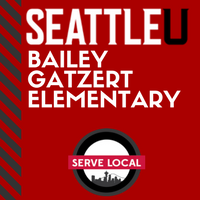 red seattle u button on connect su for bailey gatzert elementary