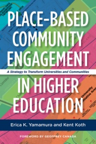 Book cover: Place-Based Community Engagement in Higher Education
