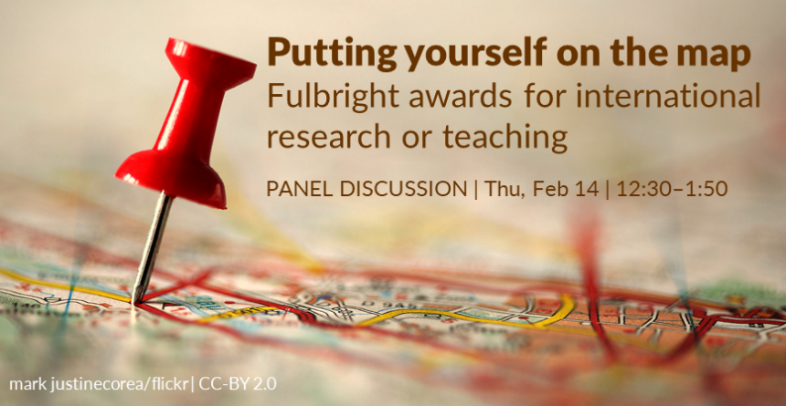 19WQ Putting yourself on the map - Fulbright awards