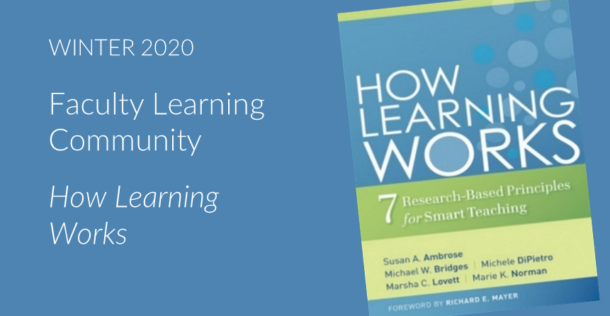 Book cover for How Learning Works