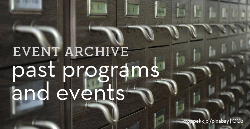 Past programs and events