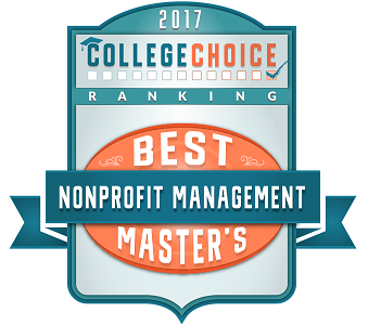 Logo for 2017 Best Nonprofit Management Masters