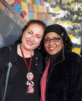 Dr. Gabriella Gutiérrez y Muhs and Dr. Mary-Antoinette Smith
