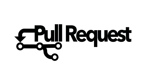 Logo for gallery show, Pull Request