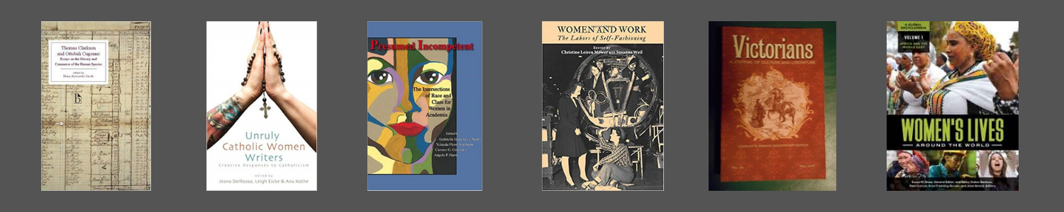 Covers from publications featuring the work of Dr. Mary-Antoinette Smith