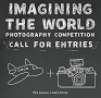 Poster for Imagining the World with image of plane and camera