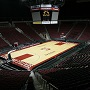 Seattle U basketball court at Key Arena
