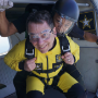 Dean Powers prepares for first skydiving experience