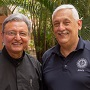 UCA President P. José Alberto Idiaquez, SJ and Superior General of the Society of Jesus, Father Arturo Sosa