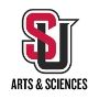 Image of the Seattle U interlock logo with the words Arts and Sciences