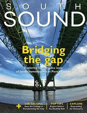 Front cover of South Sound Journalism Fellows project
