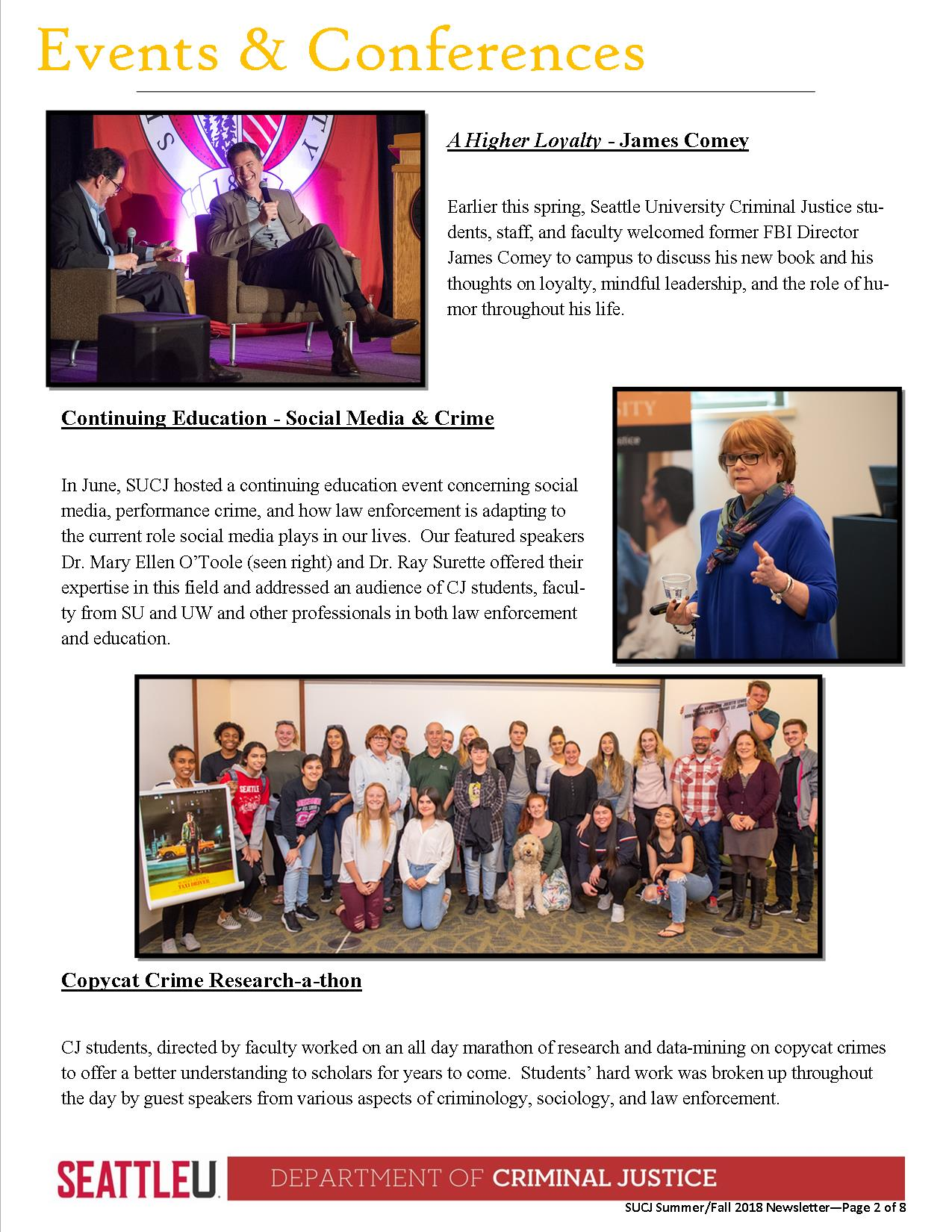 Fall 18 Newsletter Page 2