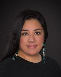 Native woman facing camera headshot