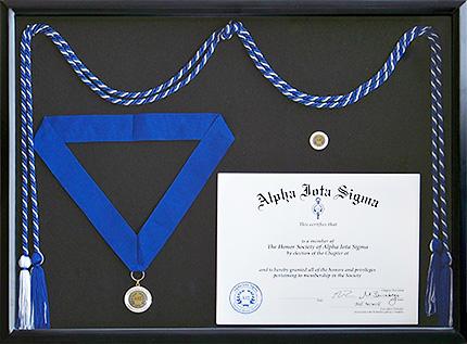alpha iota sigma honor society