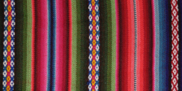 Image of Mexican woven fabric