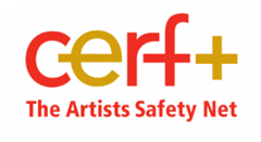 cerf+ artists safety net logo
