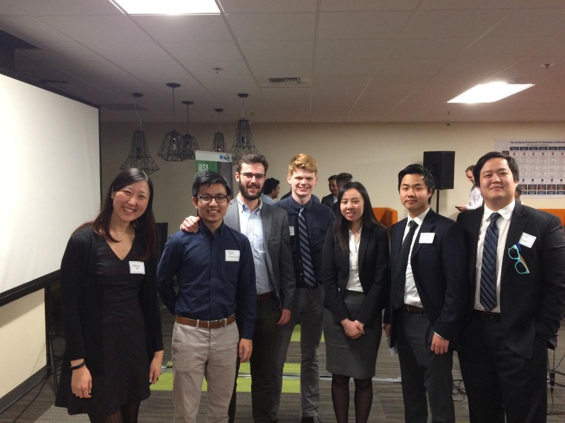 Teams from Seattle University at the IASA IT architecture Competition