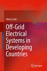 Cover of Dr. Louie's Book - Off-grid Electrical systems in Developing Countries