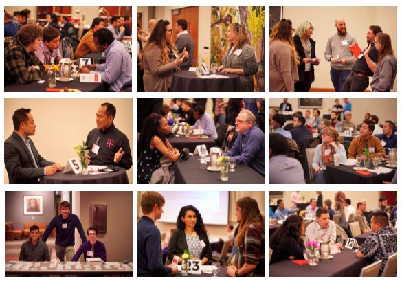 2019 ECE Networking Night 2019 collage