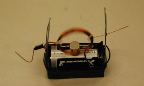Magnetic Force Simple Electric Motor Electricity And