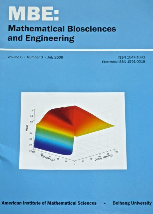 MBE (Mathematical Biosciences & Engineering) Journal Cover