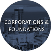 Areas to Support button - Corporations & Foundations