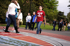 Students Walking Around