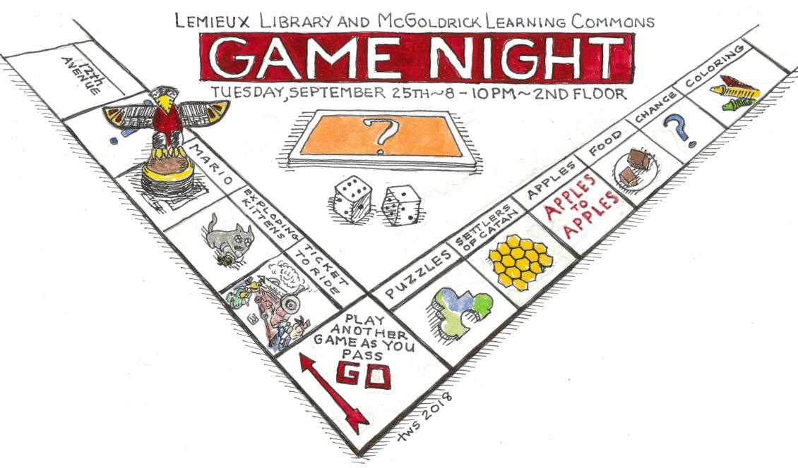 Le Muse Gamenight Comic