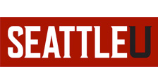 Media Kit Example 3: Seattle U Reverse Logo