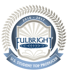 Fulbright Badge for Top Producers