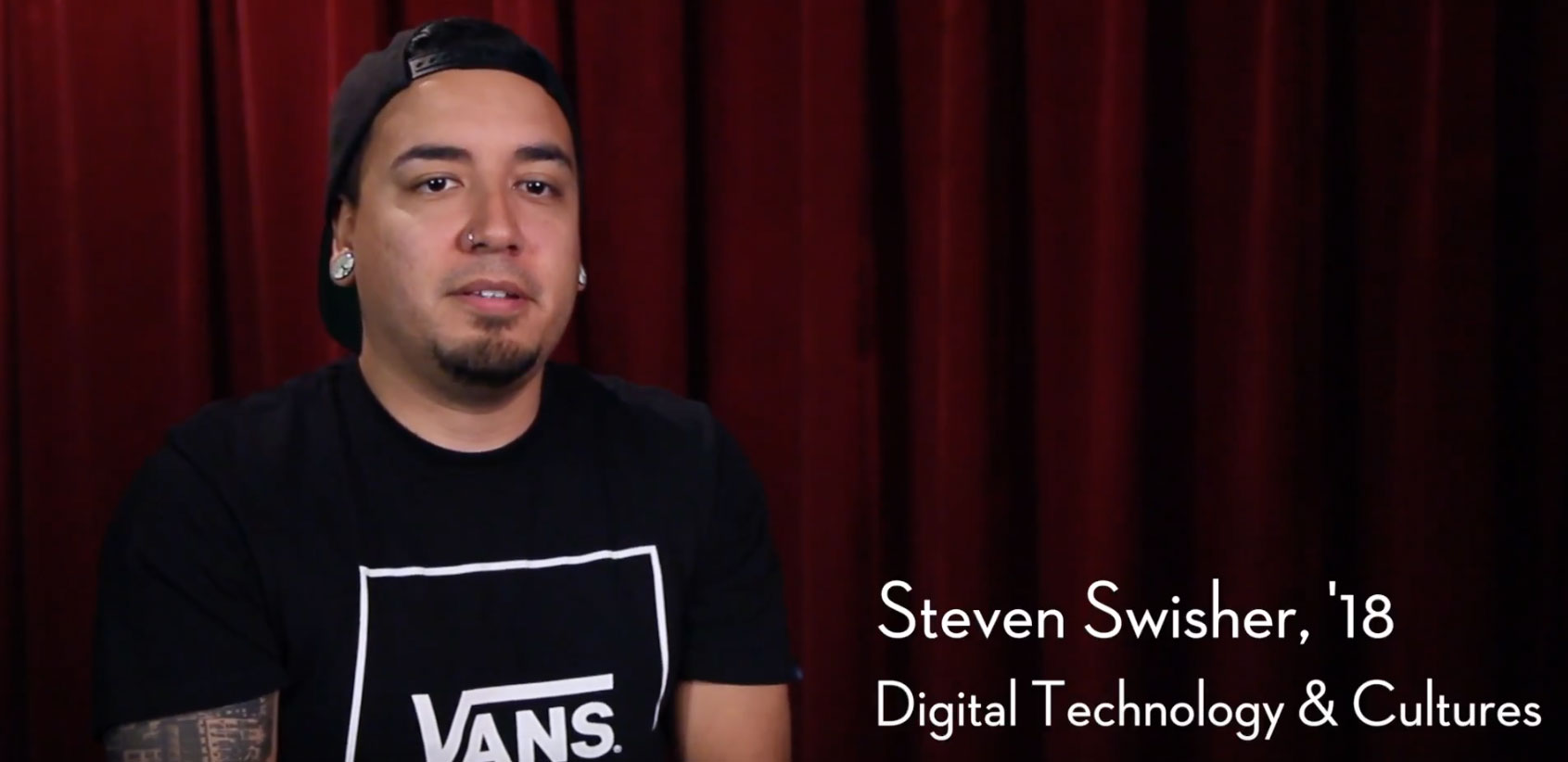 Steven Swisher, '18 Digital Technology and Cultures