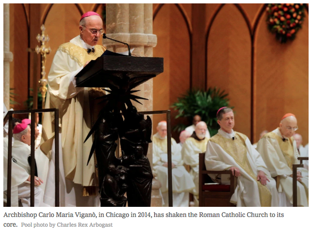 The Man Who Took On Pope Francis - photo by Charles Rex Arbogast