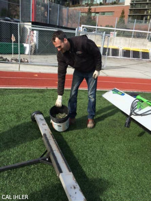 Q: How Do SUu0027s Gardeners Keep The Turf At Seattle University Park Clean?