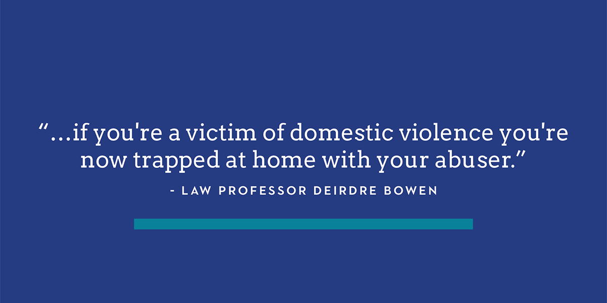 Image for Seattle U Law Students Helping Domestic Violence Survivors File Protection Orders