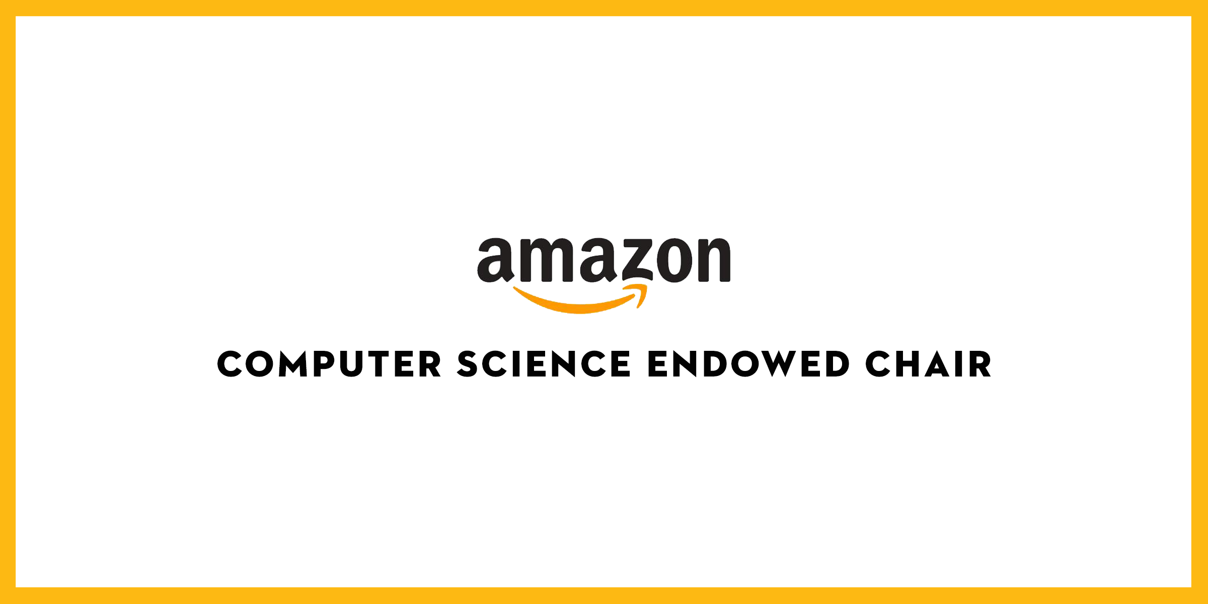 Amazon Endowed Computer Science Chair